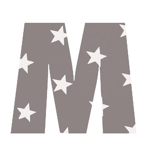 M - Grey Stars