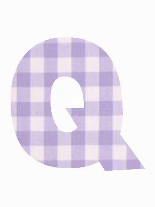 Q - Lilac Gingham