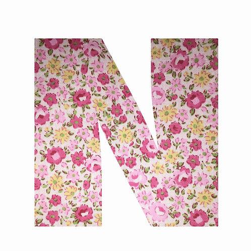 N - Pink Floral