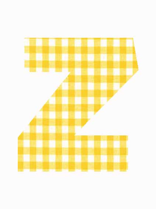 Z - Yellow Gingham