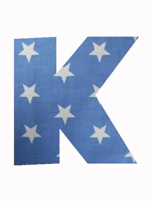 K - Blue Stars