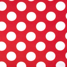 Red & White Polka Dot