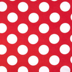 Red & White Polka Dot