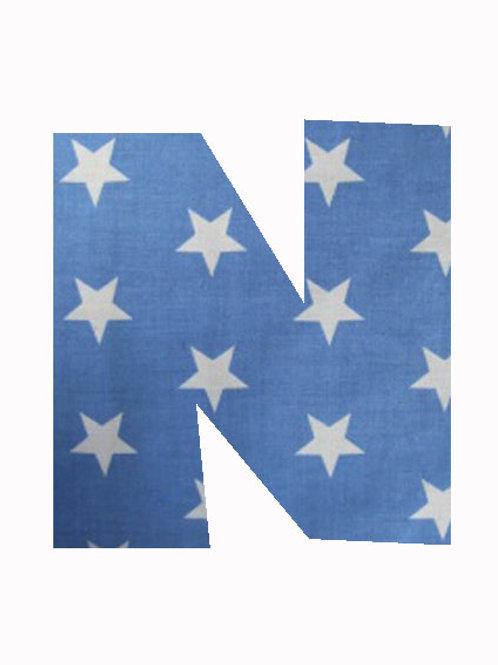 N - Blue Stars
