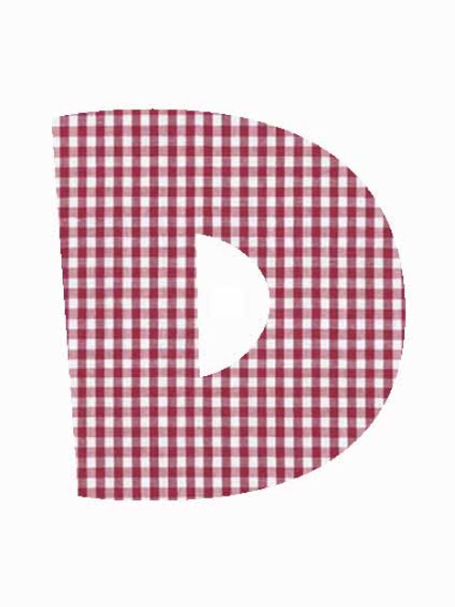 D - Red Gingham