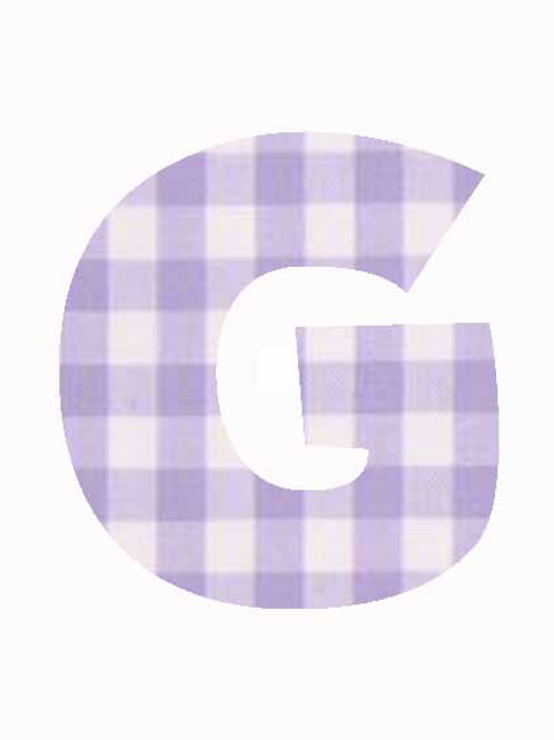 G - Lilac Gingham