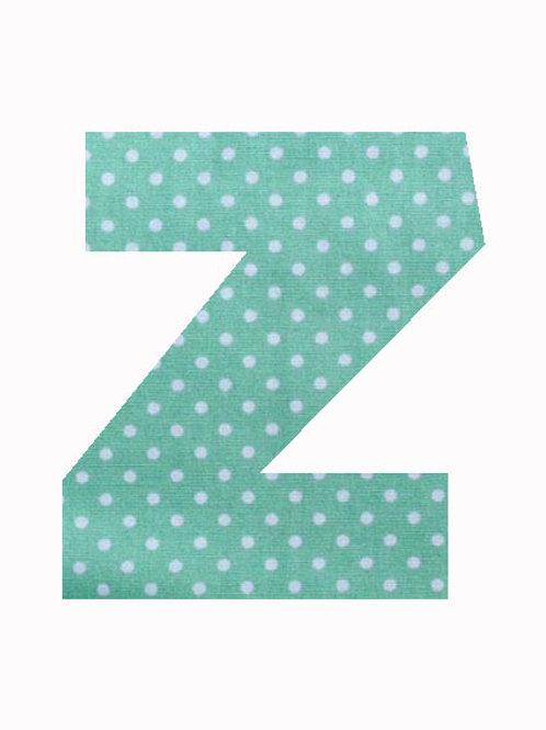 Z - Green Polka Dot