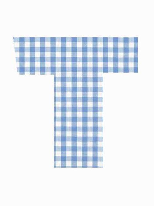 T - Blue Gingham