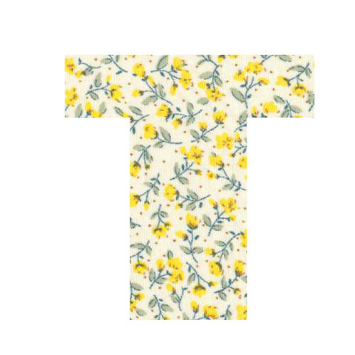 T - Yellow Flowers