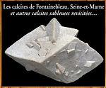 Calcites de Fontainebleau