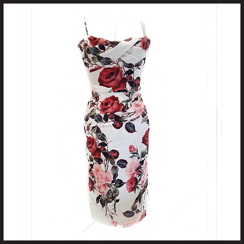 Romance In Bloom cocktail dress