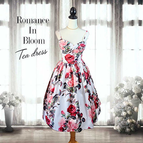 Romance In Bloom swing dress