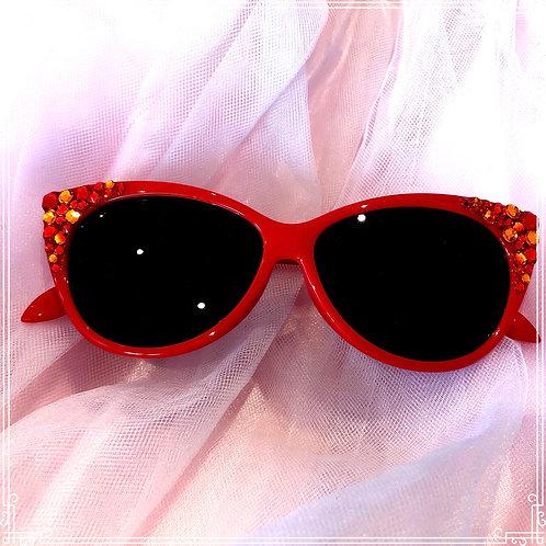 Ruby mermaid sunglasses