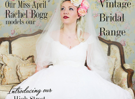 Our VintageBelle Rachel Bogg on becoming our April covergirl!