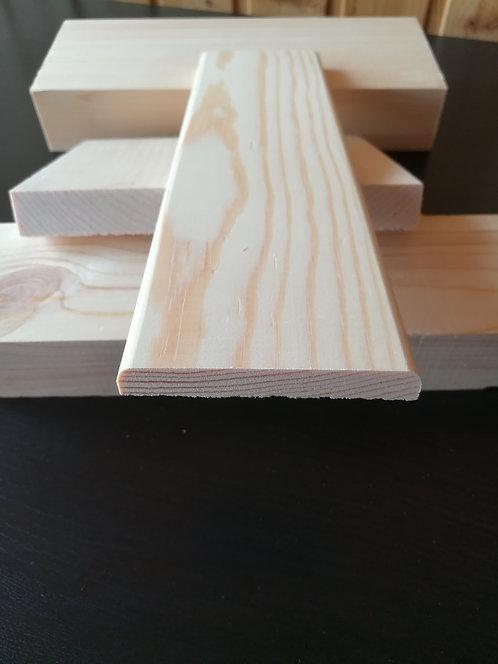 Опанелка осина прямая 0 сорт (12х65-75мм)