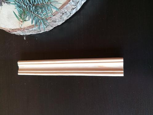 Галтель осина 0 сорт (35х35мм)