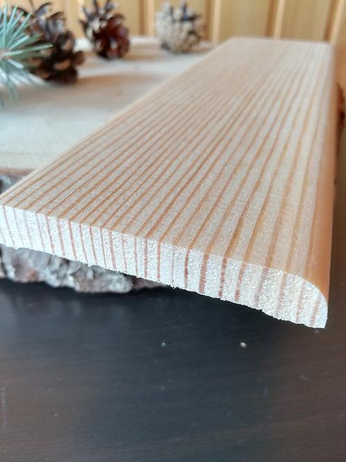 Опанелка прямая 0 сорт сращен. (12х90мм)