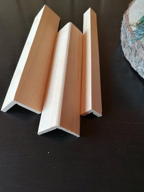 Уголок наружний 0 сорт (50х50мм)