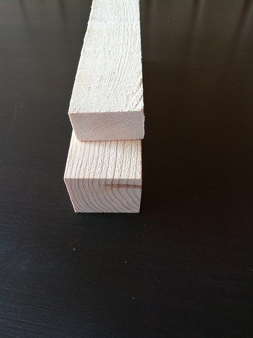 Брусок 50х20 мм (естеств.влажн.) 1-3 сорт
