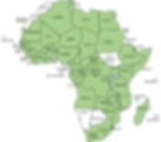 ATU Member States map