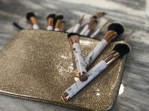 Golddigger Glitter Makeup Bag