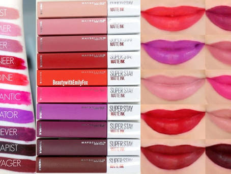 Product Review: Maybelline Super Stay Matte Ink Liquid Lipstick