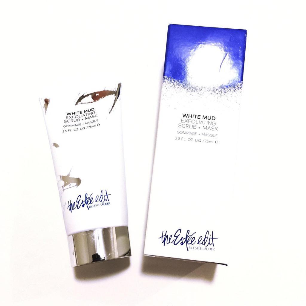 Estee Edit White Mud Exfoliating Scrub + Mask