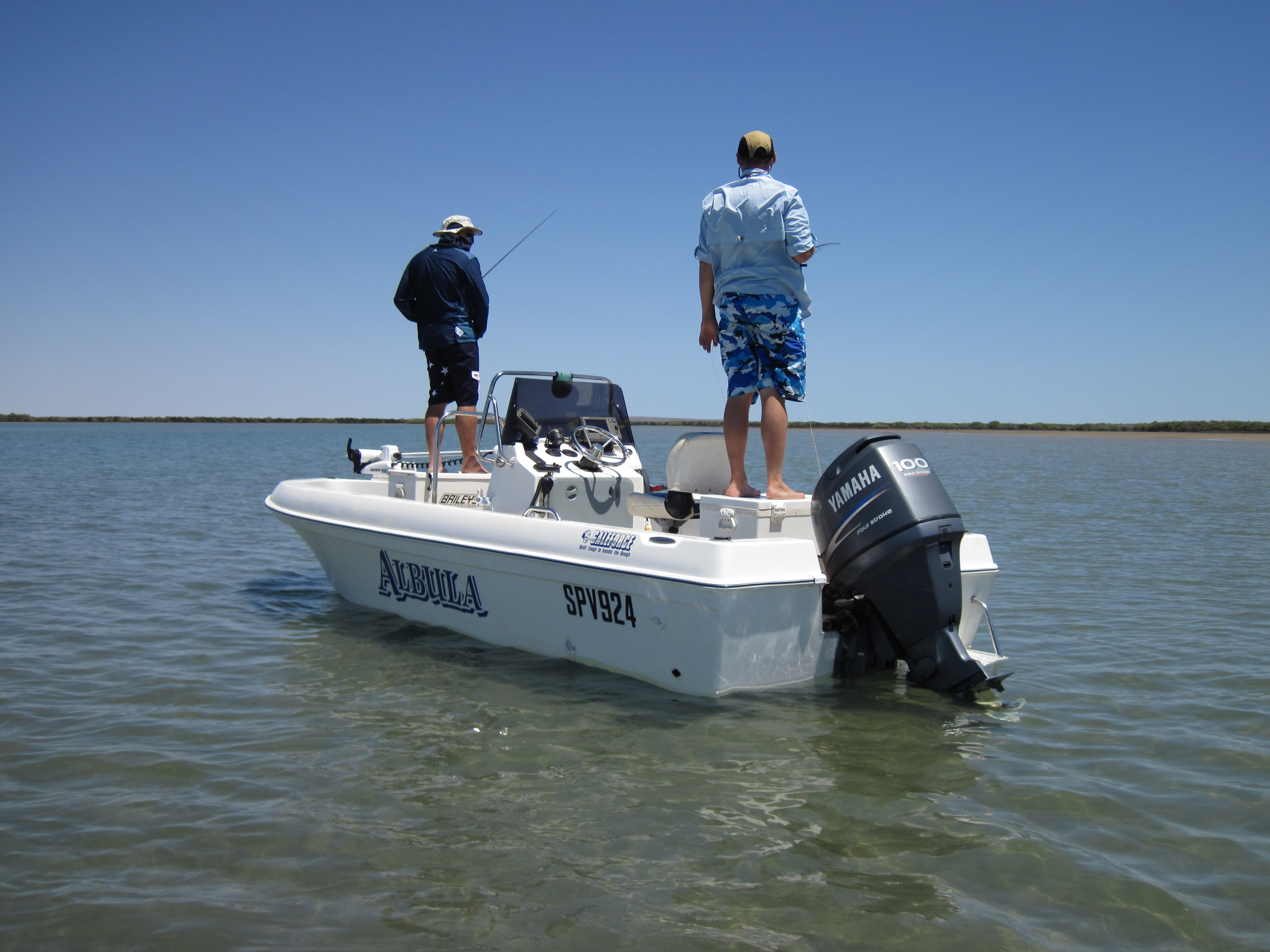 Purpose built fly fishing boat