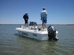 Purpose built fly fishing boat