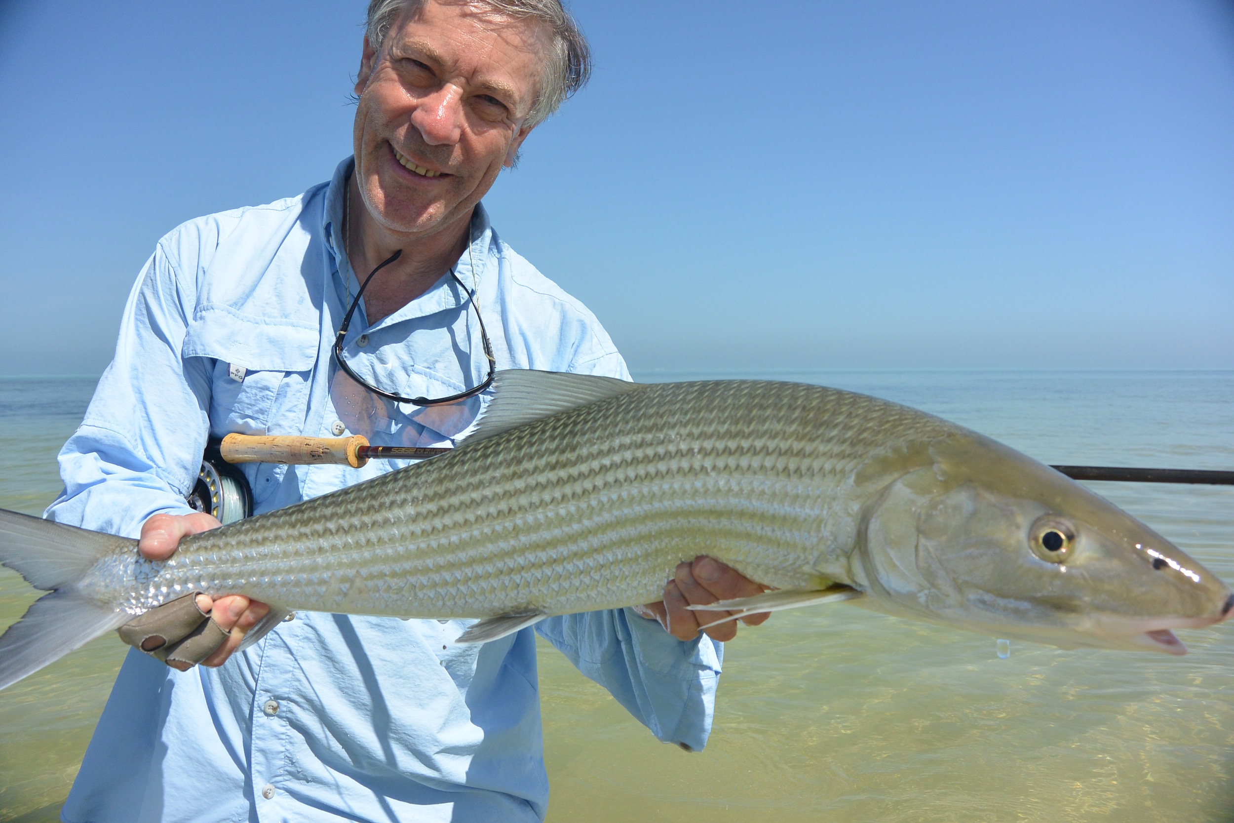 Trophy bonefish