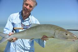 Trophy bonefish