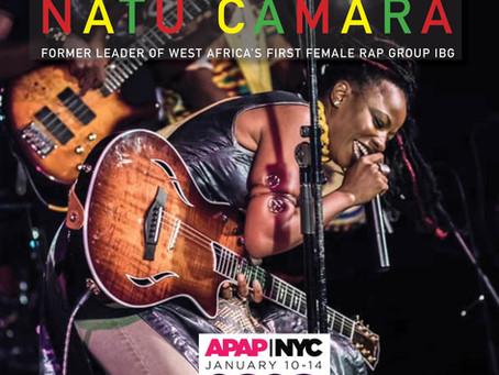 Natu makes her APAP debut in NYC.