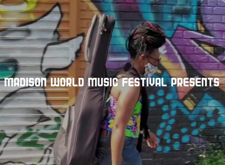Le Festival de Madison World Music ce soir à1hr 30 du matin en Guinea/8:30PM à Wisconsin/9:30 PM EST
