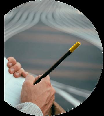 Perpetua la matita in economia circolare. Design Marta Giardini