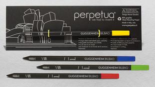 Perpetua la matita for Guggenheilm Bilbao