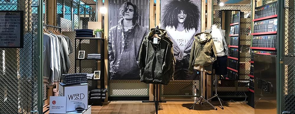 Pop-up store WRAD e Perpetua a Berlino