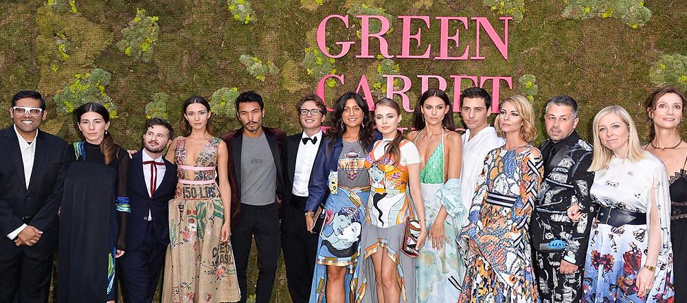 WRAD endorsed by Perpetua ai Green Carpet Fashion Awards
