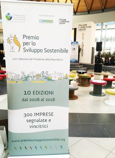 Premio per lo sviluppo sostenibile 2018
