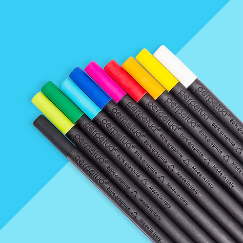 Perpetua la matita ecosostenibile in grafite riciclata -  pack 10