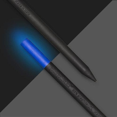 Perpetua la matita ecosostenibile in grafite riciclata - Lumina - gomma fotoluminescente - luce blu