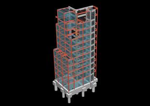 建設地:東京都 用 途:ホテル 構 造:混構造(RC+S)