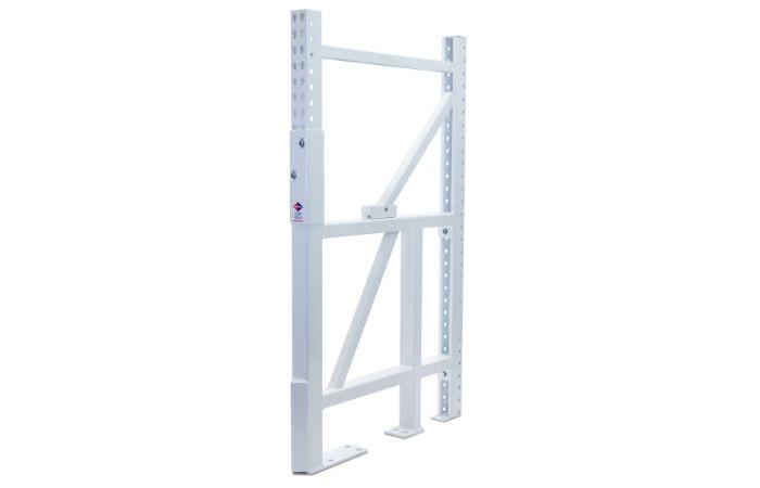 Vertical Single Leg Pallet Rack Repair Kit