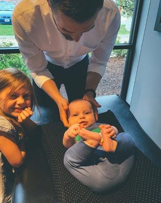 Baby Adjustment Dr Taylor
