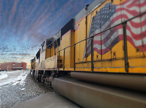 Trains, Downtown Moberly
