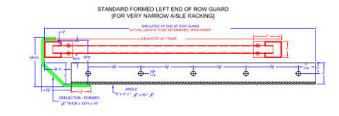 End of Row Guard (Master) Standard Forme