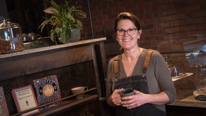 Renee Swartz, the Bean, Downtown Moberly