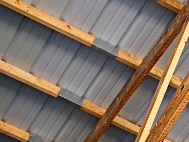 Rafters Purling Clips | Post Frame Building | CPS | Hunnewell, Missouri