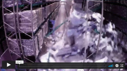 Warehouse Racking Collapse