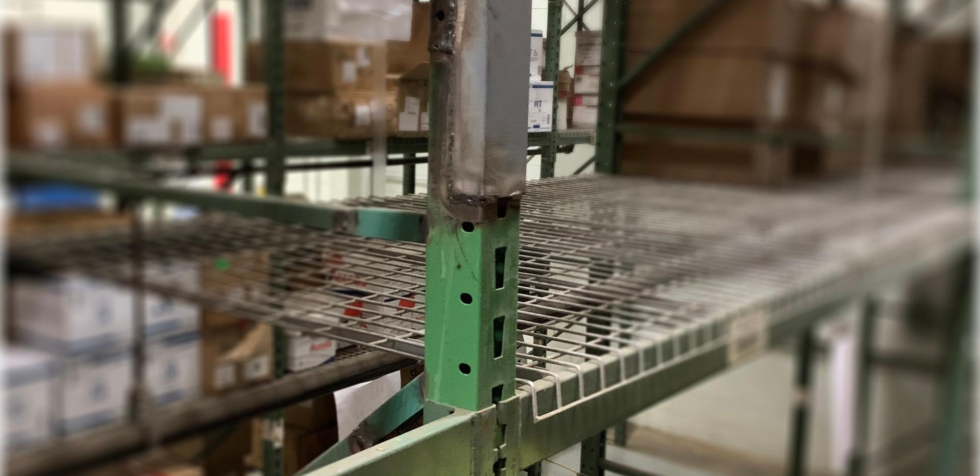 Before rack repair second level.j