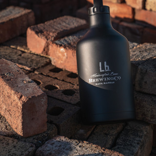 Lb. Brewing Co Stainless Steel Growler